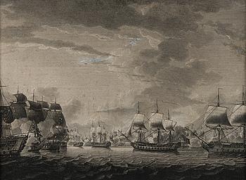ROBERT DODD, efter, kopparstick, F. Chesham & J. Peltro, R. Sayer & J. Bennett, London 1783.