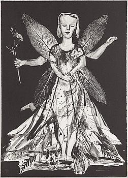 LENA CRONQVIST, litografi, signerad Lena Cronqvist och numrerad 2/10 med blyerts.
