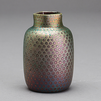 VAS, keramik, Clement Massiers, Golfe Juan omkring 1900, signerad.