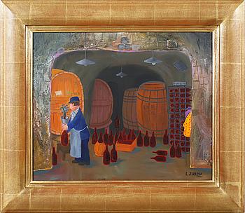 LENNART JIRLOW, olja på duk, signerad L Jirlow.
