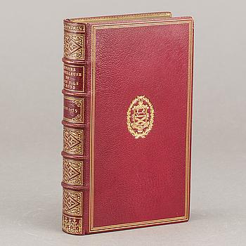 """""""HISTOIRE MERVEILLEUSE DE TROIS FILS DE ROYS"""" A Lion par Benoist rigavd 1579."""