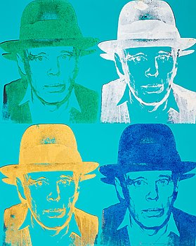 "209. Andy Warhol, ""Joseph Beuys""."