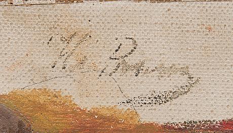 """Ilja jefimovitj repin, sketch to the 'black sea freemen', (""""Конец Черноморской вольницы"""")."""