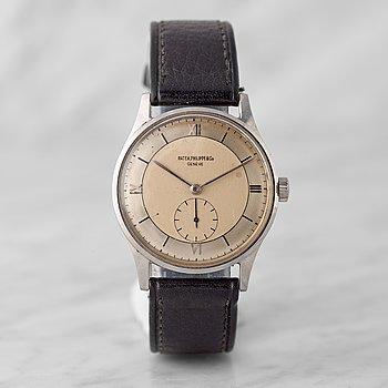 14. PATEK PHILIPPE, Genève, Calatrava, wristwatch, 33,2 mm,