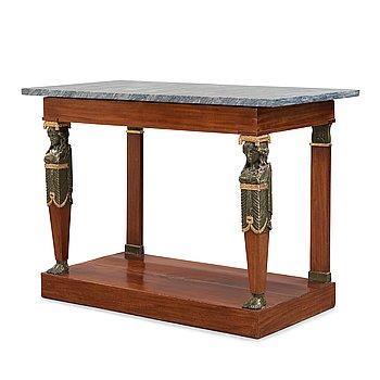 25. A late Gustavian circa 1800 console table.