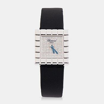 CHOPARD, Genève, Ice Cube, armbandsur, 25 x 25 mm,
