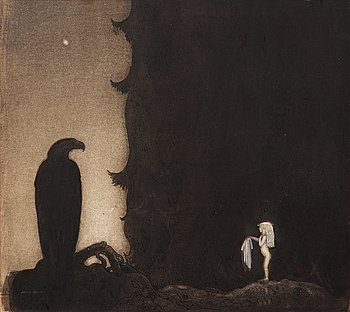"""155. John Bauer, """"Here are the rest of my clothes""""."""