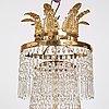 A swedish 19th century thirteen-light chandelier.
