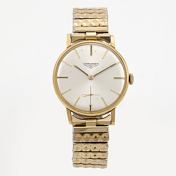 LONGINES, armbandsur, 34 mm,