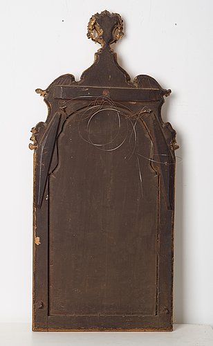 A swedish late baroque early 18th century mirror attributed to burchardt precht.