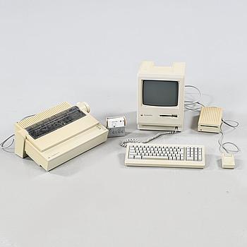 DATOR samt SKRIVARE, Macintosh, 1980-talets första del.