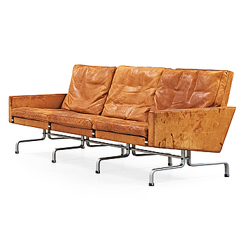 POUL KJAERHOLM, soffa, 'PK-31-3', E Kold Christensen, Danmark 1960-tal.