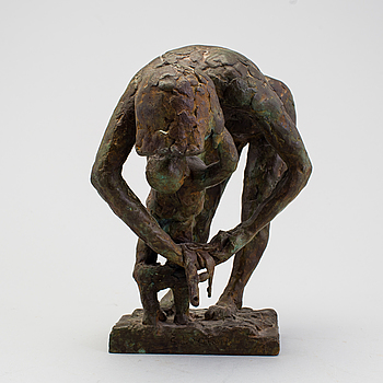 ERIK HÖGLUND, skulptur, brons, signerad och numrerad 5/10.