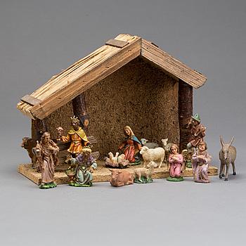 Nativity scene first half of the 20th century.