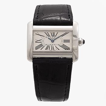 CARTIER, Tank Divan, armbandsur, 31,5 x 20 (25,5) mm,