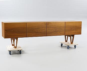 A 1960s sideboard by Ib Kofod Larsen for Säffle Möbelfabrik.