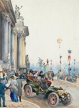 "8. ANNA PALM DE ROSA, ""Mercedes utanför Grand Palais""."