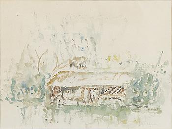 HELGE DAHLMAN, akvarell, signerad och daterad -59.