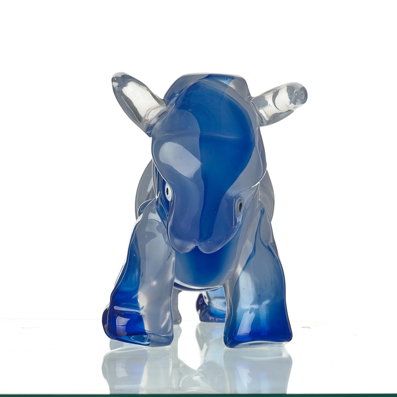 Toro Glass Bull Logo