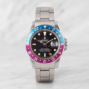 128. ROLEX, Oyster Perpetual, GMT-Master, Chronometer, wristwatch, 40 mm,