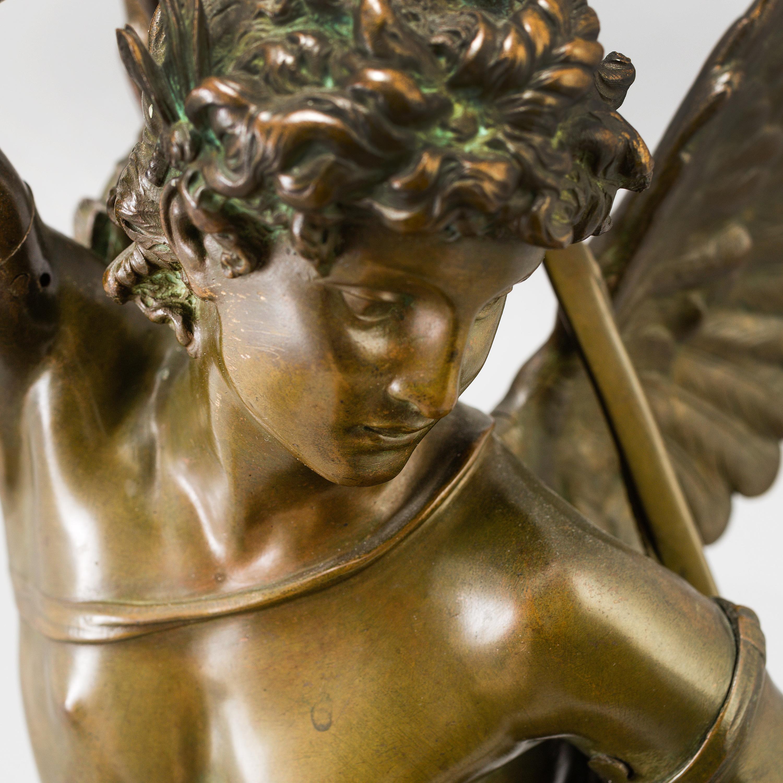 Jules F 201 Lix Coutan Sculpture Bronze Signed Quot J Coutan Rome Quot Foundry Stamp E Colin Amp Cie Paris