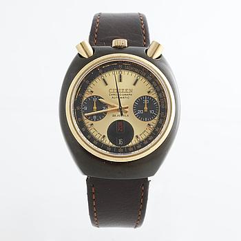 "CITIZEN, ""Bullhead"", ""Tachymeter"", kronograf, armbandsur, 38 x 42 mm."