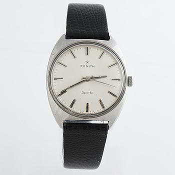 ZENITH, Sporto, armbandsur, 33 x 39 mm.