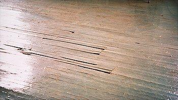 """128. Fredrik Wretman, """"PS 1 Museum, 2:nd Floor"""", 1990, ur serien """"American Floors""""."""