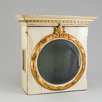 DOCKSKÅP/KLOCKHUV, 1800-talets första hälft.