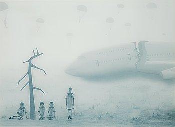 "124. Helena Blomqvist, ""Plane Crash"", 2005."