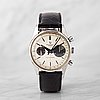 "Universal geneve, uni-compax, ""big eye"", chronograph, wristwatch, 36.5 mm,"