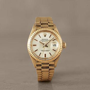 "ROLEX, Oyster Perpetual Datejust, Chronometer, ""Sigma dial"", armbandsur, 26 mm,"