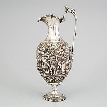 VINKANNA, försilvrad koppar, 1800-talets första hälft.