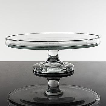 KREDENSFAT, glas, 1800-tal.