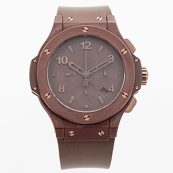 HUBLOT, Big Bang, All Chocolate, armbandsur, 44 mm,