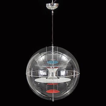 "VERNER PANTON, A ""VP-Globe"" by Verner Panton form Louis Poulsen, Denmark."