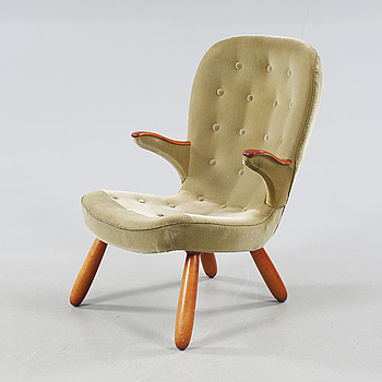 FÅTÖLJ, 1950-/60-tal.