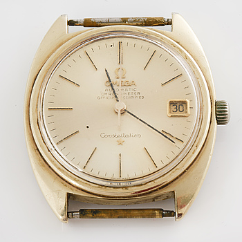 OMEGA, Constellation, Chronometer, armbandsur, 35 x 33 (40) mm.