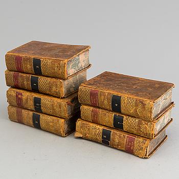 """BÖCKER 7 st, """"Voyages du jeune Anacharsis en Grece"""", Paris 1820."""