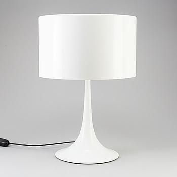 "SEBASTIAN WRONG, bordslampa, ""Spun Light T1"", Flos, Italien, 2000-tal."