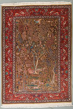 MATTA, old, orientalisk, ca 203 x 146 cm.