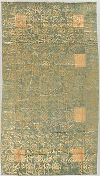 KESA, buddistisk dräkt, Japan, semiantik/antik, 201 x 115 cm.