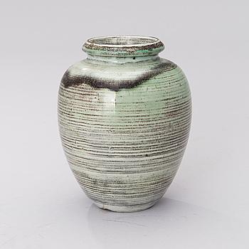 VALENTINA MODIG-MANUEL, vas, keramik, signerad.