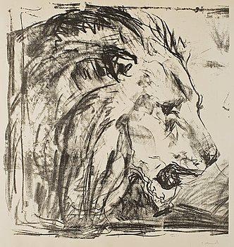 """311. Edvard Munch, """"Lejontämjaren""""/""""The Lion Tamer""""/""""Lovetemmeren""""."""