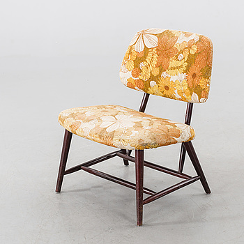 """ALF SVENSSON, fåtölj, """"TeVe"""", ur Studio-kollektionen, Ljungs industrier, modell formgiven 1953."""