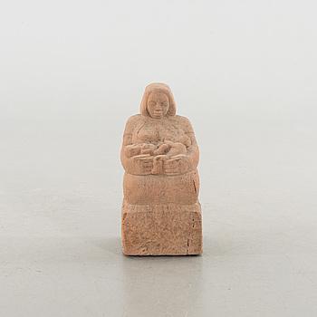 OKÄND KONSTNÄR, skulptur, stenmassa.