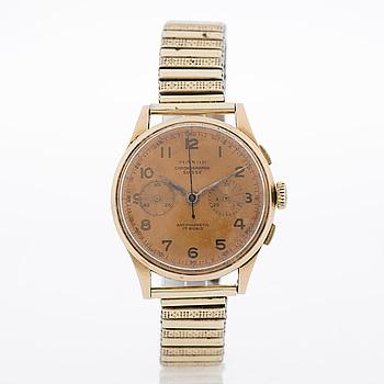 MAXOR, Chronograph Suisse, armbandsur, 37 mm.