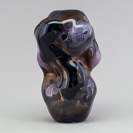Per b sundberg, vas, glas, orrefors 1998, unik.