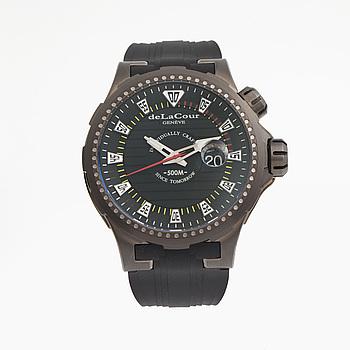 deLaCour, Promess, Reef Saver (500M), armbandsur, 48 mm,