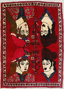 MATTA, Kashgai, 142 x 101 cm.
